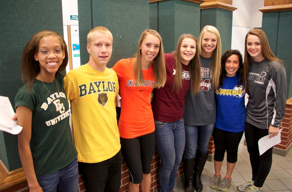 13 Student Athletes Participate in National Signing Day