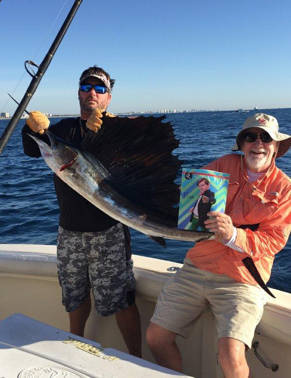 Dan McDevitt, Finnegan McDevitt's grandfather catching a sailfish of the coast of Ft. Lauderdale,Flcrop.jpg