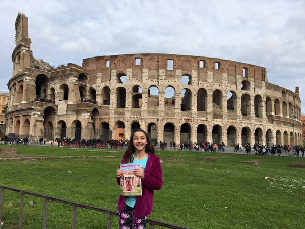 Hannah Araujo saw the Colosseum, Rome.JPG