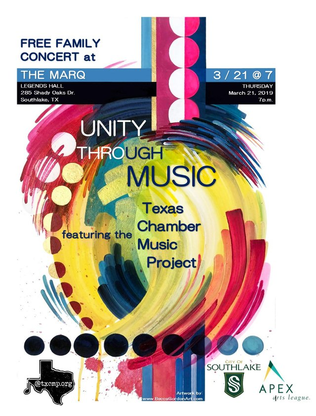 Unity Through Music Featuring Texas Chamber Music Project