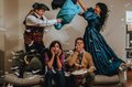 The Cast of GUADALUPE IN THE GUEST ROOM at WaterTower Theatre. Photo by ....jpg