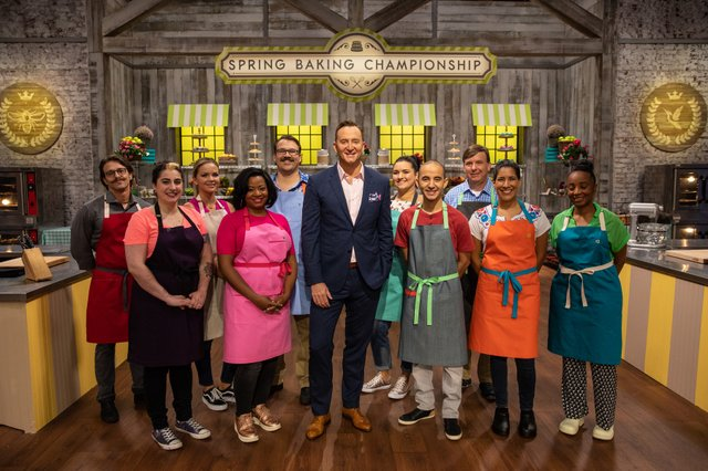 Bakers on set of Spring Baking Championship.jpg
