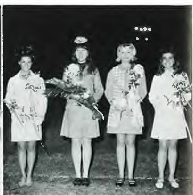 1969 Hoco queen and court.jpg