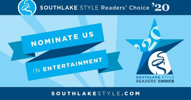 Readers' Choice 2020 Nomination Entertainment Facebook