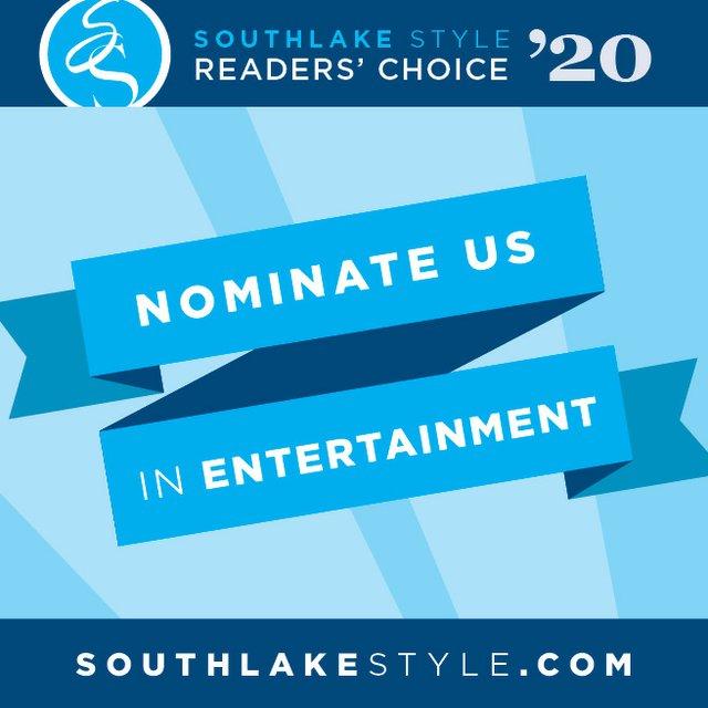 Readers' Choice 2020 Nomination Entertainment Instagram