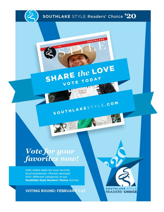 Readers' Choice Voting Round Poster