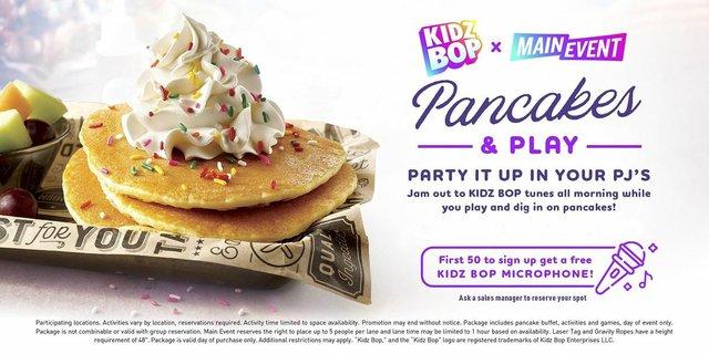 Kidz Bop Pancakes & Play - Main Event Grapevine.jpeg