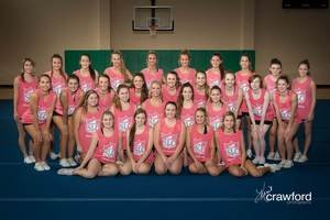 Cheer On Dragon Cheer at UIL State Spirit Competition - Jan 02 2017 0712AM