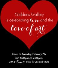 Celebrating Love and the Love of Art - start Feb 07 2015 0600PM